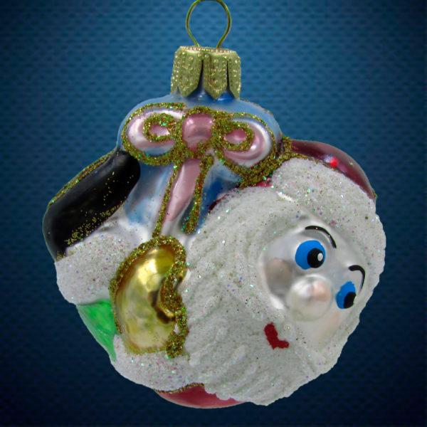 Елочная игрушка Санта-подвеска, Irena Co
