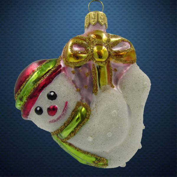 Елочная игрушка Снеговик-подвеска, Irena Co