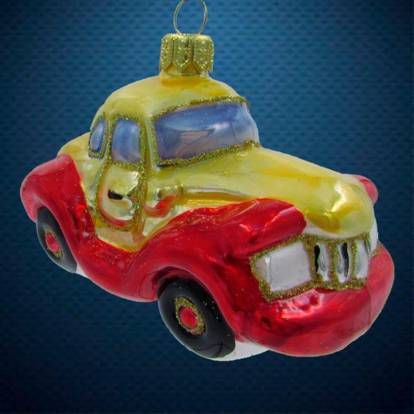 Елочная игрушка Машина цветная, Irena Co