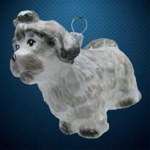 Елочная игрушка Шитцу, Irena Co