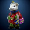 Елочная игрушка Мышиный король, Irena Co