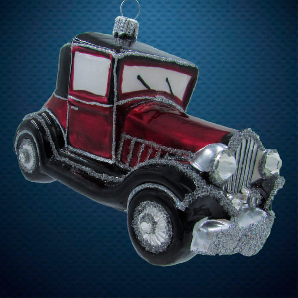 Елочная игрушка Джип короткий, Irena Co